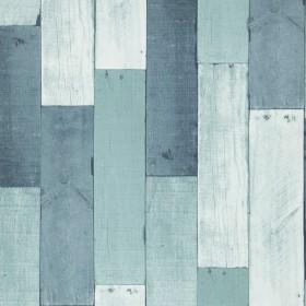 1С Elements / 75 Wooden Wall 35-Aqua обои