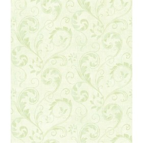 21F Amelia/ 65 6030108 Zinnia Light Green обои