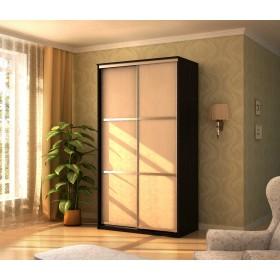 Мэри Де-Люкс Шкаф 2-дверный, 1200, двери №1, дуб венге/двери № 1