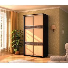 Мэри Де-Люкс Шкаф 2-дверный, 1000, двери №3, дуб венге/двери № 3