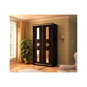 Мэри Де-Люкс Шкаф 2-дверный, 1000, двери №4, дуб венге/двери № 4