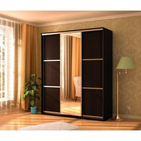 Мэри Де-Люкс Шкаф 3-дверный, 1500, двери №5, дуб венге/двери № 5