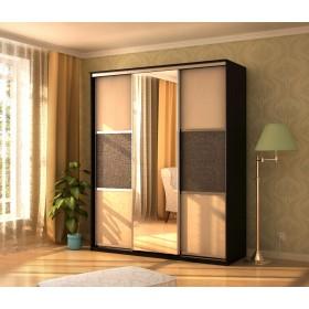 Мэри Де-Люкс Шкаф 3-дверный, 1500, двери №6, дуб венге/двери № 6