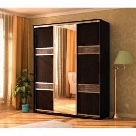 Мэри Де-Люкс Шкаф 3-дверный, 1500, двери №7, дуб венге/двери № 7