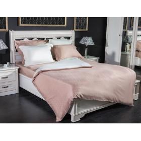 Комплект постельного белья двухсторонний 100% тенсель №19 Капучино