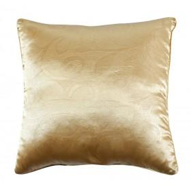 Декоративная подушка из тисненого шелка