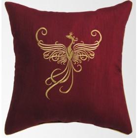 Подушка декоративная 45х45 с вышивкой