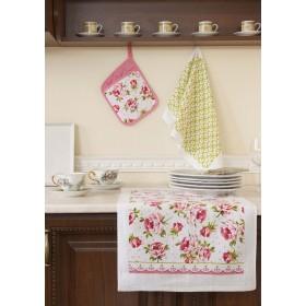 Кухонный набор (прихватка с кармашком-17х23, полотенце 38x64-2 шт.)