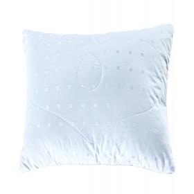 Подушка Silk в сатине-жаккарде 68х68