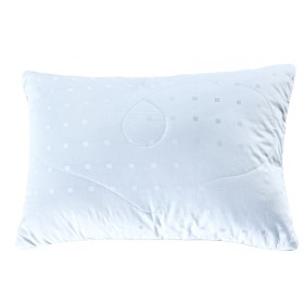 Подушка Silk в сатине-жаккарде 50х72