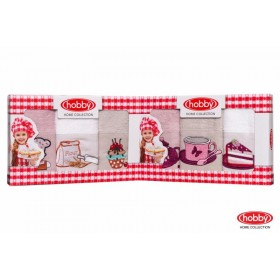 Махровое полотенце в коробке 30x50*3