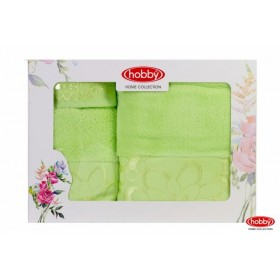Махровое полотенце в коробке 30x50+50x90+70x140