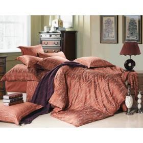 Комплект постельного белья тенсель+ хлопок Семейный