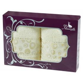 Набор из 2-х полотенец Adele 50х90+50х90 в подарочной упаковке