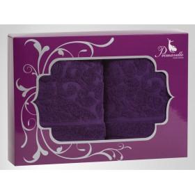 Набор из 2-х полотенец Fiona 50х90+50х90 в подарочной упаковке
