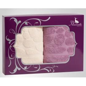 Набор из 2-х полотенец Piera 50х90+50х90 в подарочной упаковке
