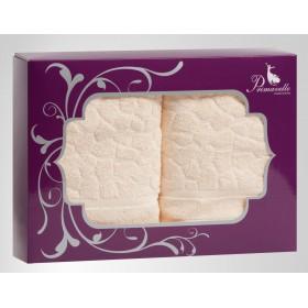 Набор из 2-х полотенец Vitra 50х90+70х140 в подарочной упаковке