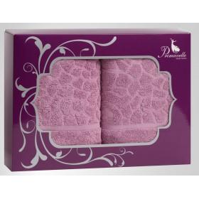 Набор из 2-х полотенец Vitra 50х90+50х90 в подарочной упаковке