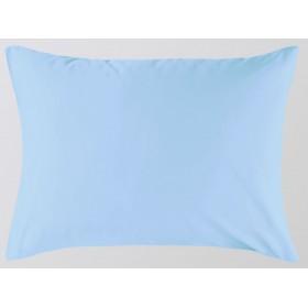 Наволочка Primavelle 70х70 сатин на молнии голубой