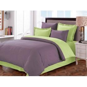КПБ Primavelle г/к сатин 2-х спальный, наволочки 70х70, простыня на резинке №2 Violet
