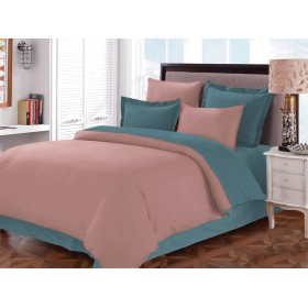 КПБ Primavelle г/к сатин 2-х спальный, наволочки 70х70, простыня на резинке №5 Rose