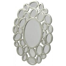 Кольца с зеркалами овал