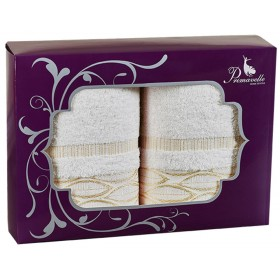 Набор из 2-х полотенец Liv 50х90+50х90 в подарочной упаковке